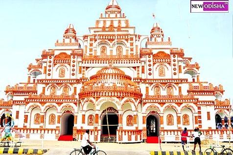 Saheed Nagar Durga Puja gate 2015