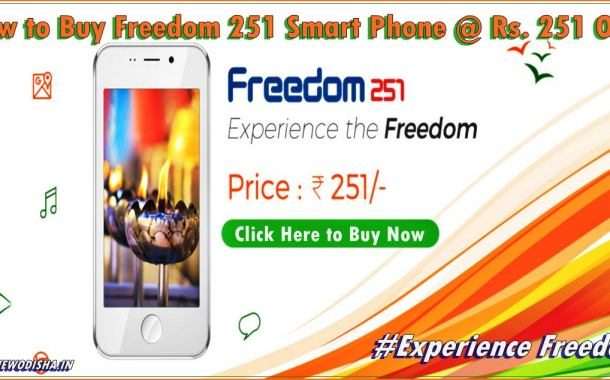 Buy Freedom 251 Smart Phone at Rs. 251 only