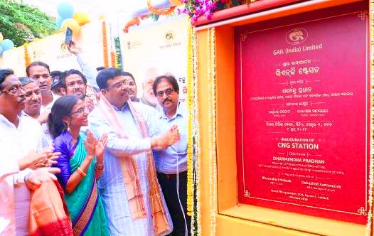 Two CNG Gas stations opened in Cuttack