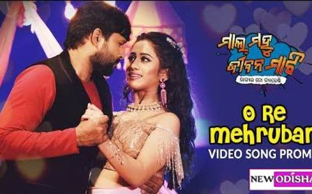 O Re Mehruban New Odia HD Video Song from Odia Movie Mal Mahu Jiban Mati