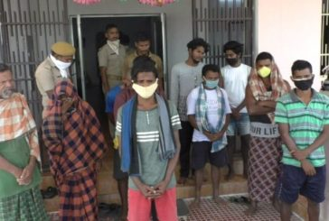 13 arrested for attacking Police in Gajapati dist of Odisha