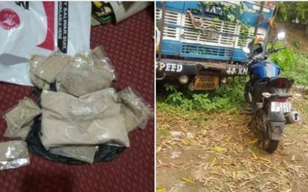 Brown Sugar Worth Rs 32 Lakh Seized In Bhadrak of Odisha
