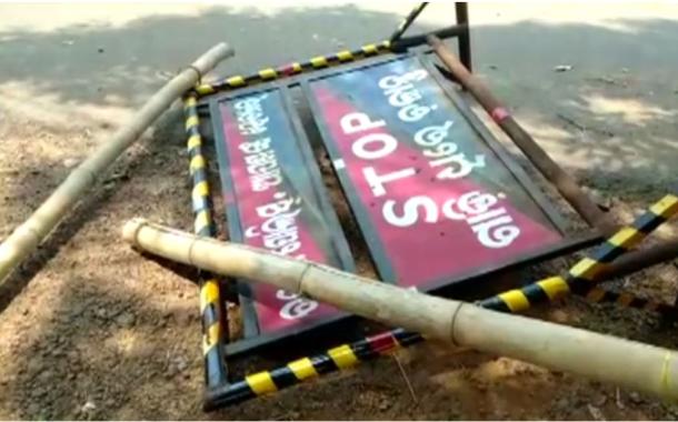 Mob attacks police in Odisha-Jharkhand Border, 4 policemen injured