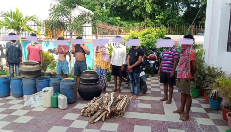Huge Amount Of Liquor Seized In Odisha's Ganjam, 12 Arrested