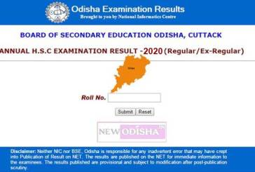 BSE Odisha Matric 10th HSC Exam Results 2020 : Check Here
