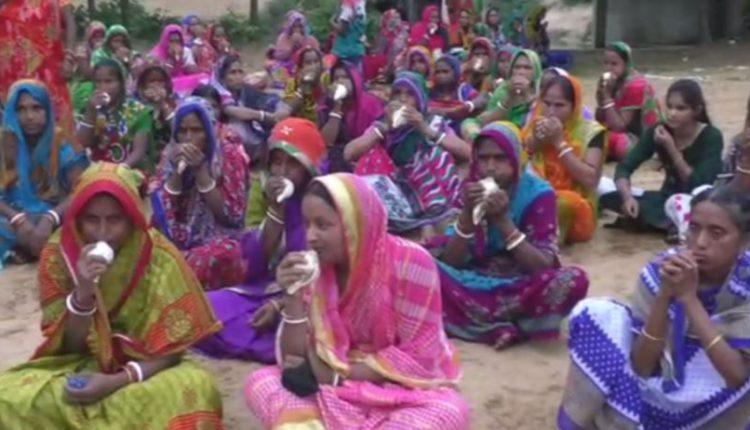 Women protest against Proposed Haldia Petrochemical Complex in Odisha
