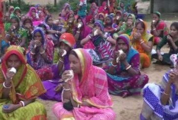 Women protest against Proposed Haldia Petrochemical Complex in Odisha