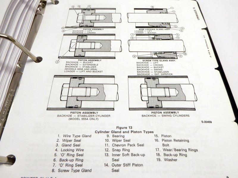 Wiring Diagram Database  Ford 555d Backhoe Parts Diagram