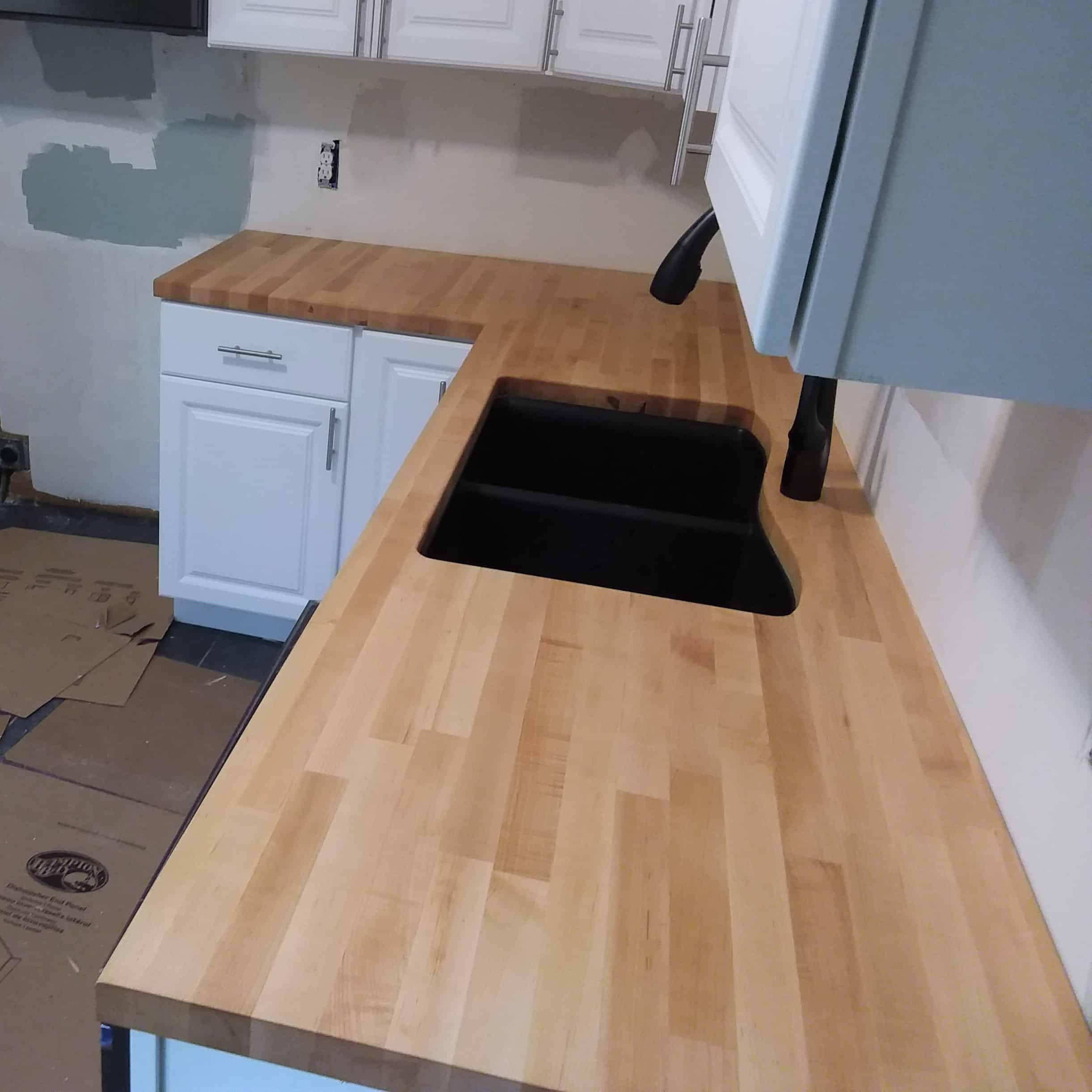 New England Wood Countertops - 15 years of custom ... on Maple Countertops id=55464
