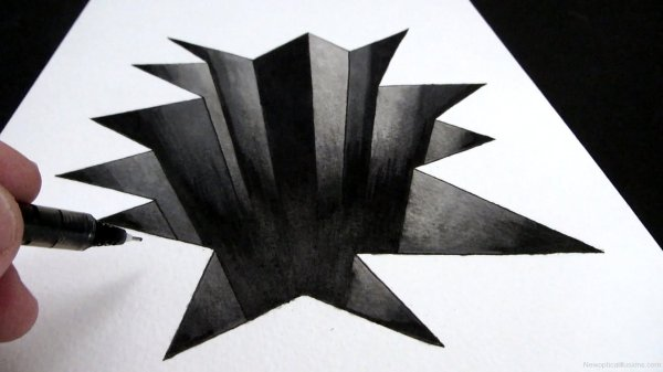 3D Chalk Drawings Page 18