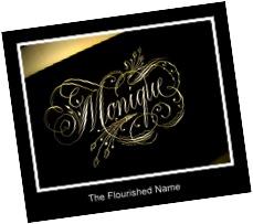 The Flourished Name