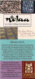 NOLAA membership card