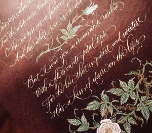 Maria Helena Copperplate at New Orleans Lettering Arts Association