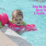 Why My Daughter Never Wears A Puddle Jumper