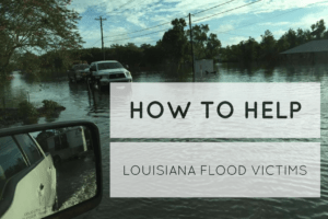 south Louisiana flood 2016