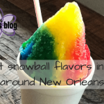The Best Snowball Flavors In and Around NOLA