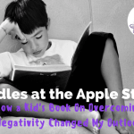 Hurdles at the Apple Store :: How a Kid's Book On Overcoming Negativity Changed My Outlook
