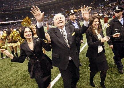 New Orleans Saints arves af Bensons kone