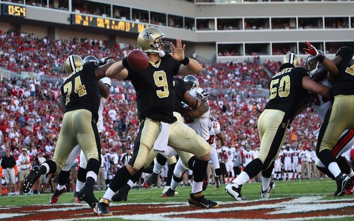 Peyton Manning, Drew Brees og Super Bowl vinduet