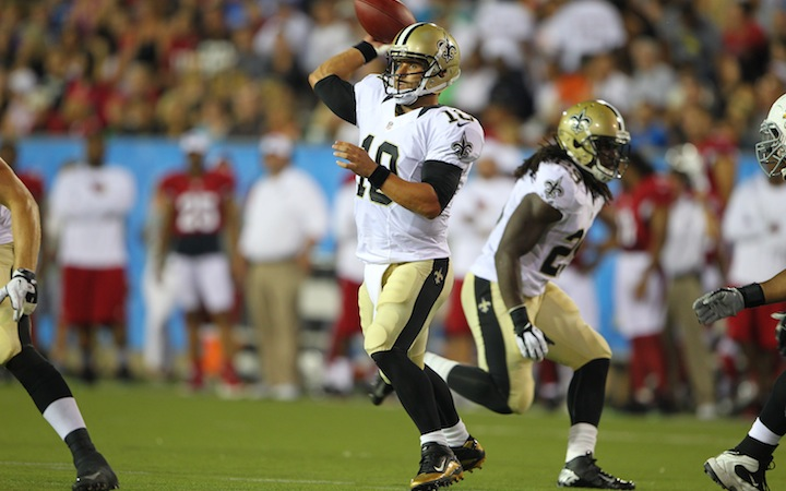 Saints preseason modstandere