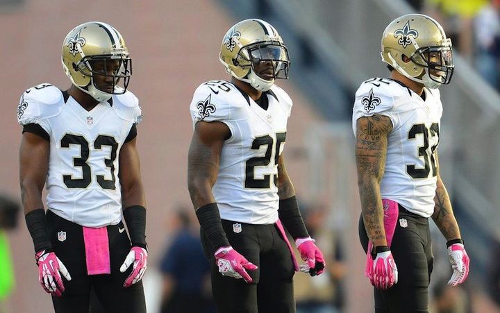 Saints signer safety Rafael Bush