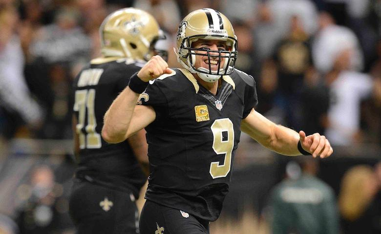 Drew Brees enig med New Orleans Saints om 2-årig kontrakt
