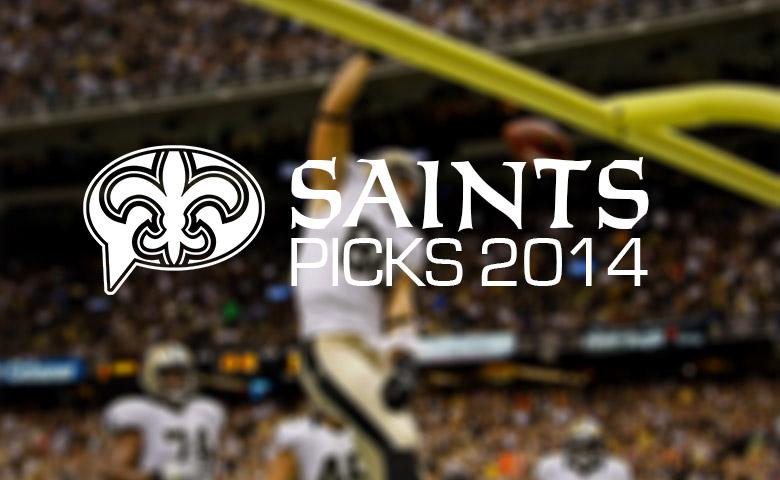 Saints Picks 2014
