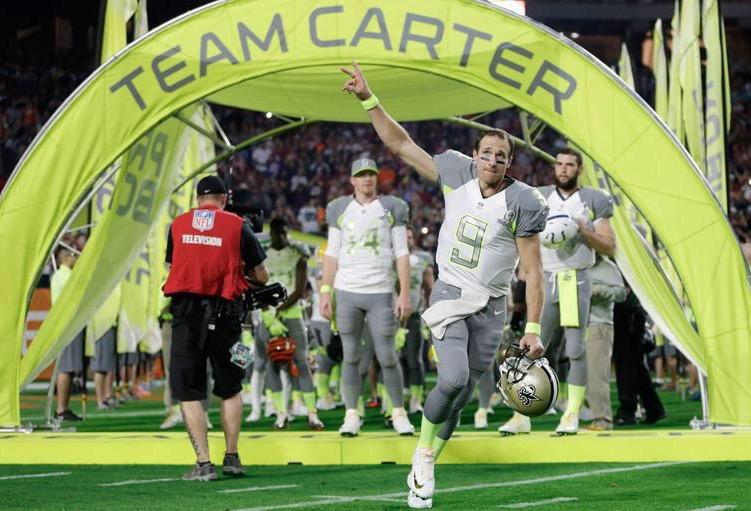 Pro Bowl: Brees tabte, Ingram og Graham vandt