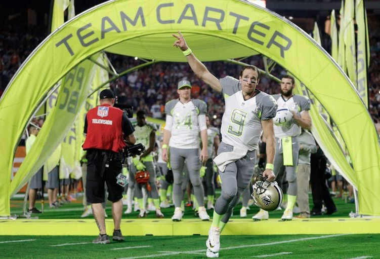 Pro Bowl: Brees tabte, Ingram og Graham vandt