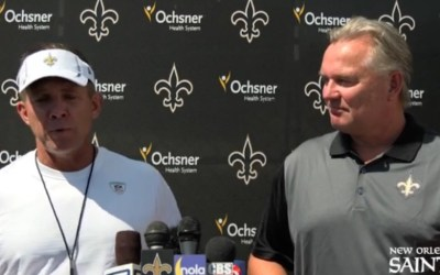 Morten Andersen optages i Saints Ring Of Honor