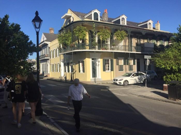 French Quarter - lidt mere eksotisk end tagterrasser i DK ;-)
