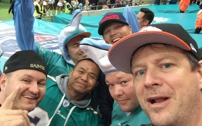 Fanrapport: New Orleans Saints at Miami Dolphins 2017 (London)