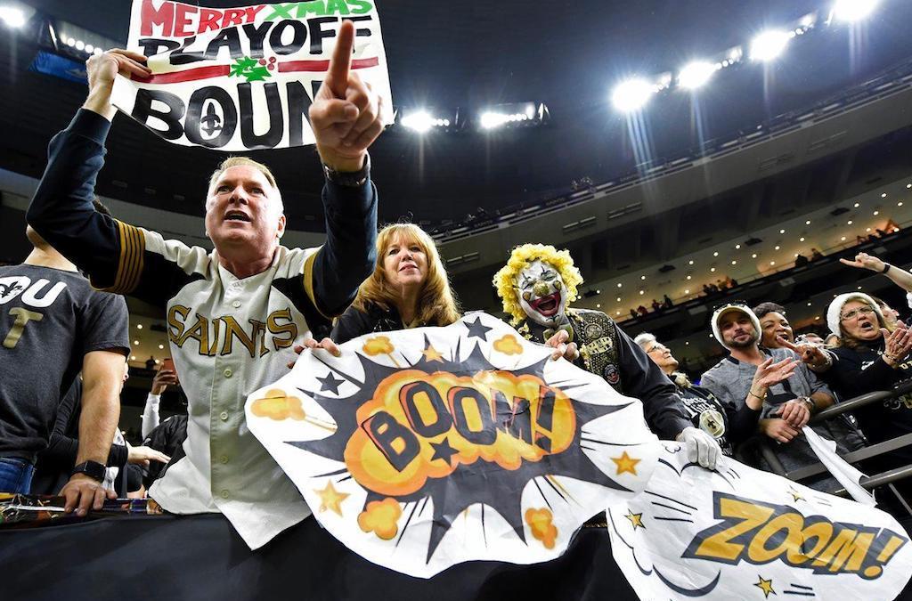 New Orleans Saints vinder NFC South trods nederlag