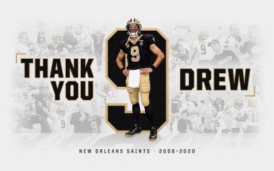 Drew Brees trækker sig tilbage efter 20 sæsoner i NFL