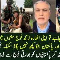 Ishaq Dar Threatens Pakistan From Indian Army From London