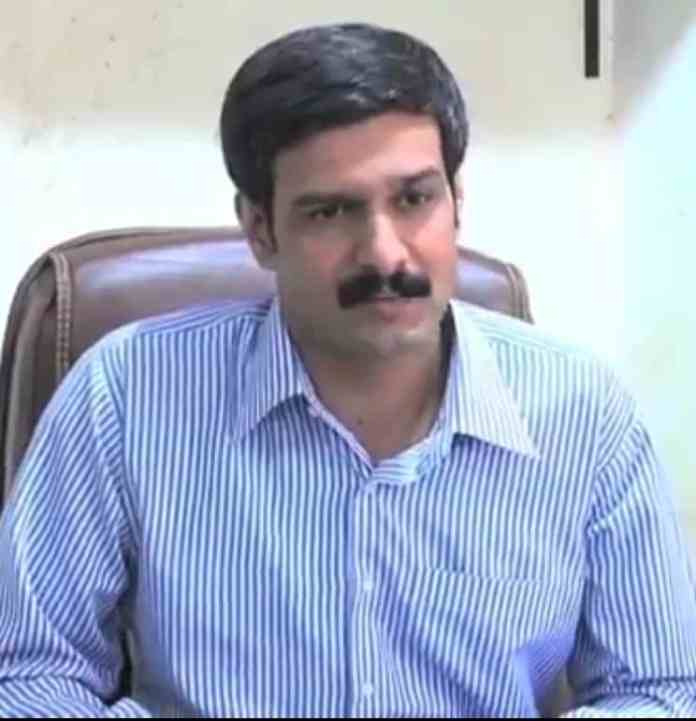 Assistant director FIA Cyber crime wing, Asif Iqbal Chaudhry.