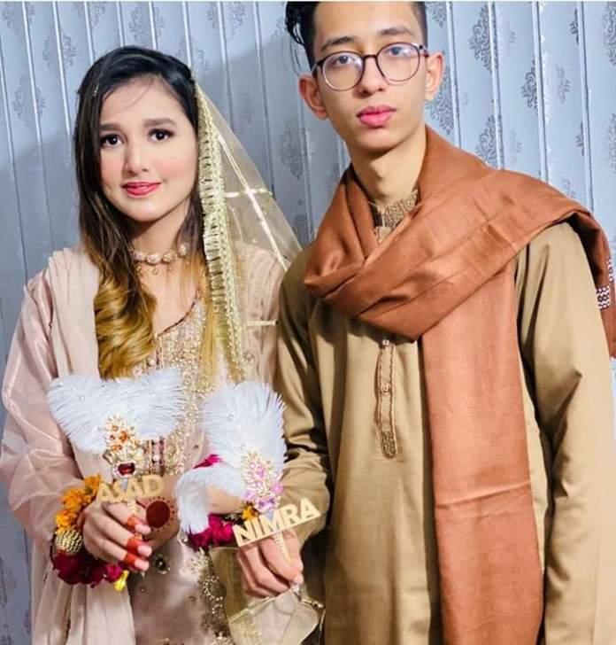 Young couple Nimra and Asad