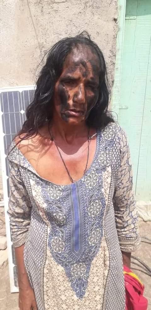 Sindh: Qanbar Shahzad Kot Fudeuel man mistreated poor woman