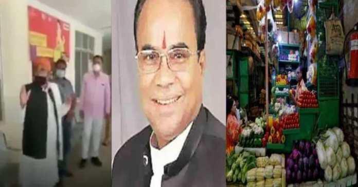 BJP MLA Suresh Tewari from UP asks Hindu people to not purchase vegetables from Muslim vendors