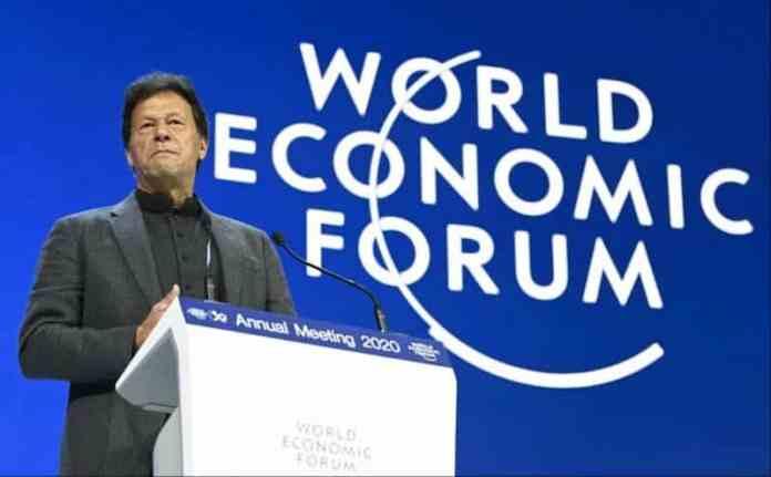 Prime minister Imran Khan of Pakistan to speak with world Economic forum via video link