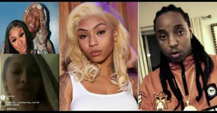 Cuban Doll leaked video with Tadeo and her reaction accusing Moneybag Yo and his girlfriend Ari