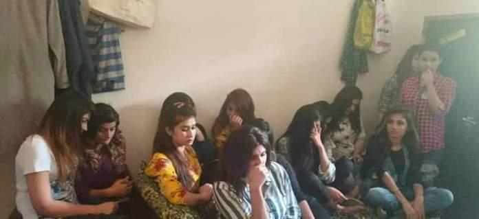Police raid farm house in Raiwind and arrested 56 boys and girls