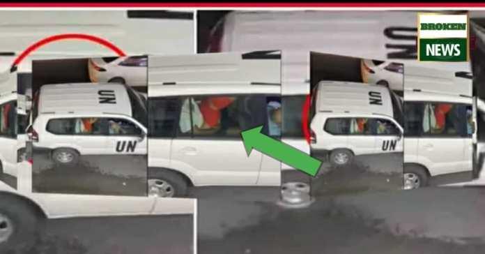 UN Car video became viral on social media