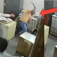 Video: Man From Upper Cast Beats Lower Cast Women at the office in Nellore, Andhra Pradesh