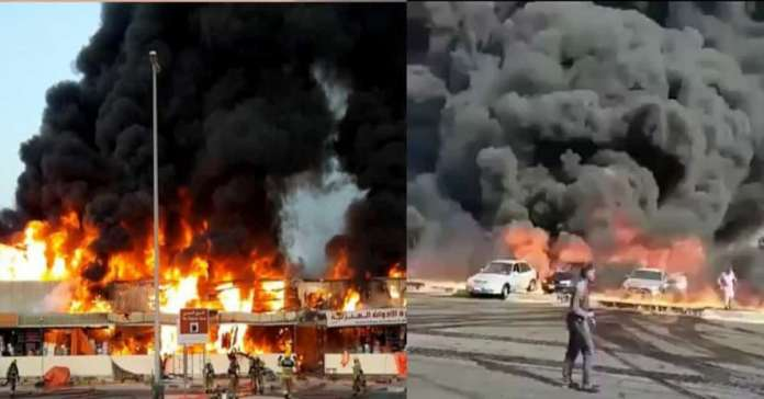 Ajman fire, United Arab Emirates