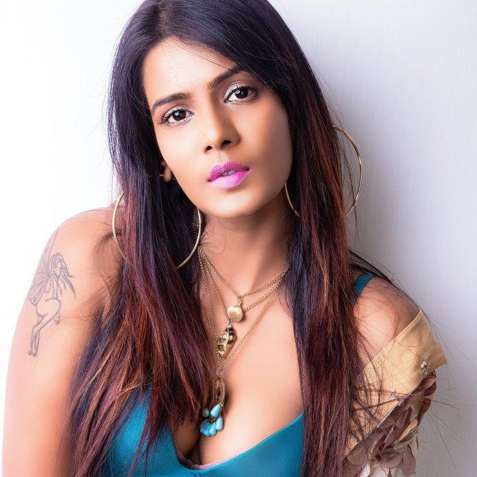 Malayali Model and actress Meera Mitun