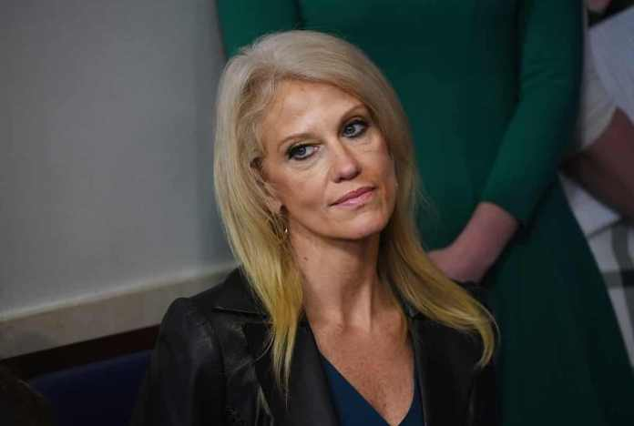 Kellyanne Conway, the mother of Claudia Conway