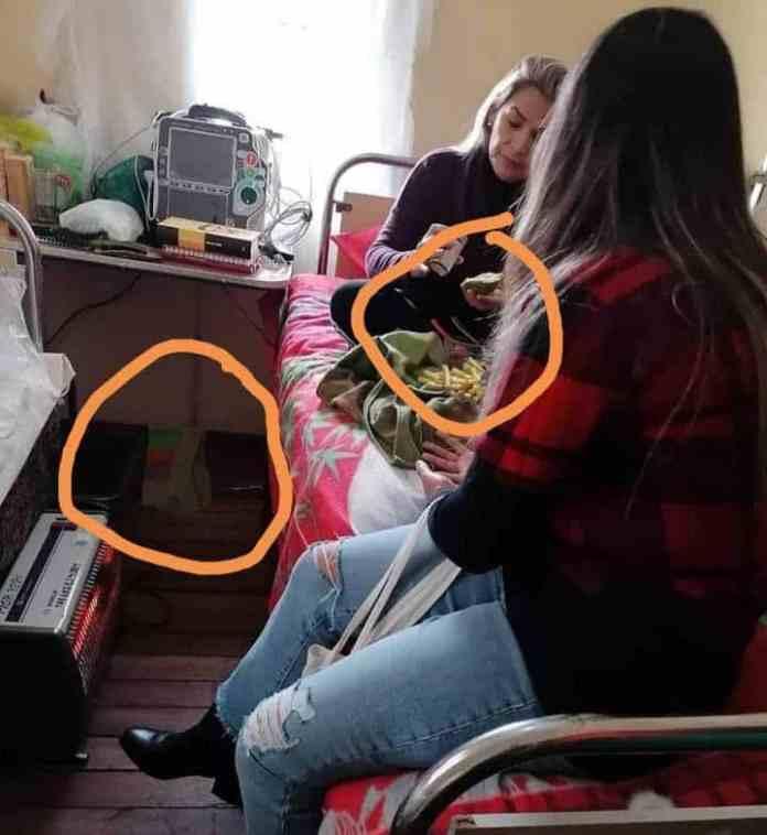 Leaked Photo Shows Former Bolivian Dictator Jeanine Anez (Áñez) eating Burger King Burger in Jail during so-called hunger strike