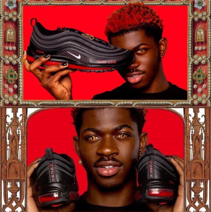 Rapper Lil nas x set to release the Satan shoes