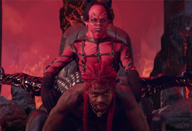 Lil Nas X gives Satan a show in new video, 'Montero.'